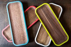 Walnut Serving Trays & Platters by David Rasmussen Design $59                                                                                                                                                                                 More