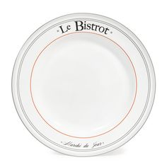 NESTOR earthenware dinner plate in white D 27cm