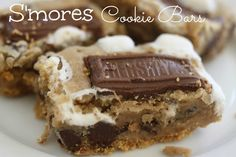 The Larson Lingo: Smores Cookie Bars