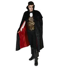 Black Gothic Vampire Male Adult Costume L *** To view further for this item, visit the image link.
