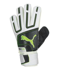 Take a look at this White Powercat 3.12 Grip Junior Goalie Gloves by PUMA on #zulily today! $22 !!