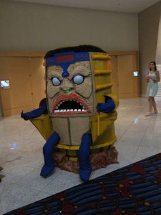Best cosplay, or bestest cosplay?! MODOK- Mechanized Organism Designed Only for Killing.