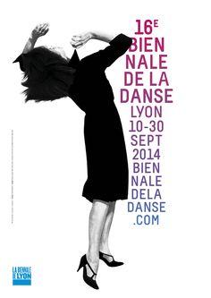 16e Biennale de la danse de Lyon Design : Claire Rolland Image : Robert Longo, Men in the Cities, Courtesy of the artist and Metro Pictures, New York