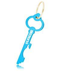 Wholesale distributor provides personalized Key Shape Bottle Opener Key Chain, promotional logo Key Shape Bottle Opener Key Chain and custom made Key Shape