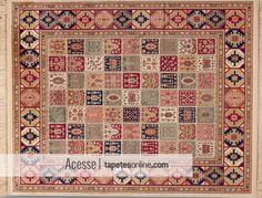 Os tapetes de origem belga são belíssimas criações com uma proposta que une o estilo clássico ao conforto absoluto.   Peça disponível a pronta entrega em nosso site: http://www.tapetesonline.com/tapete-belga-kirma