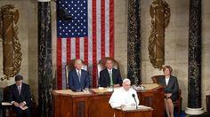 El Papa pide en el Congreso de EE.UU. la abolición mundial de la pena de muerte. Es el primer discurso de un Pontífice en esta cámara. .