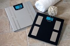 Both the sophisticated heath monitor and the black glass elegance scales measures user's body weight, body mass, body water and muscle mass data. Both designs are ultra slim and attractive extensions of your bathroom