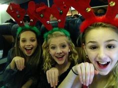 Maddie, Chloe, and Paige