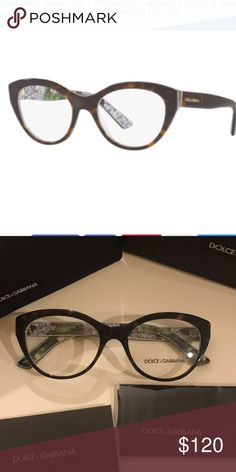 cf06aff684 Dolce   Gabbana Rx-able Frame Glasses NWT