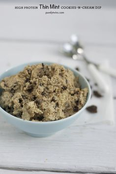 Awesome new recipe video on how to make high protein gut-friendly low sugar THIN MINT cookies-n-cream dip. Don't be intimidated, it's very easy to make!