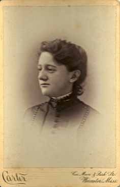 Tenney Family | Annie M. Tenney was an 1889 graduate of Mount Holyyoke College.