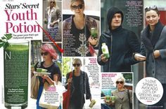 Glowing Green Smoothie: il frullato dimagrante di Hollywood!