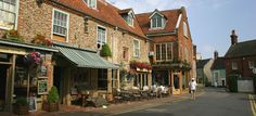 The pretty market town of Holt, North Norfolk - Byfords (c) Norfolk Tourism