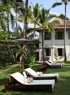 Pure relaxation and tranquility at the colonial style Satri House, Luang Prubang in Laos