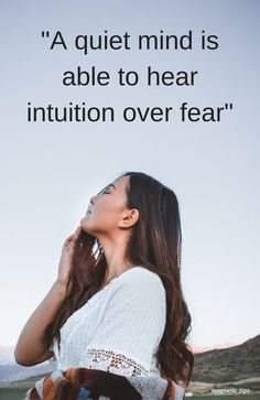 Calming down the thoughts allows you to relax and let intuition guide you. Read my blog post to discover how zen12 can help calm your mind in just 12 minutes. #zen12