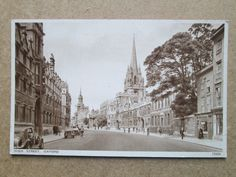 HIGH STREET, OXFORD - J. SALMON LTD No 15225 (1940s) CARS, PEOPLE   eBay