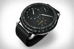 Ressence Type 3 Watch http://ressence.eu/collection/type-3/