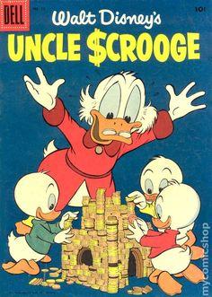 Walt Disney's Uncle Scrooge #13 vintage comic book.