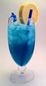 Blue lagoon.. probably the first alcoholic drink I ever tried. SO good!