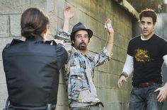 Still of Ben Bass, Billy Otis and Missy Peregrym in Rookie Blue