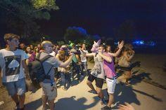 crazy crazy night! #Ravenna #notterosa