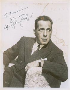 Portrait of Humphrey Bogart, 1940's