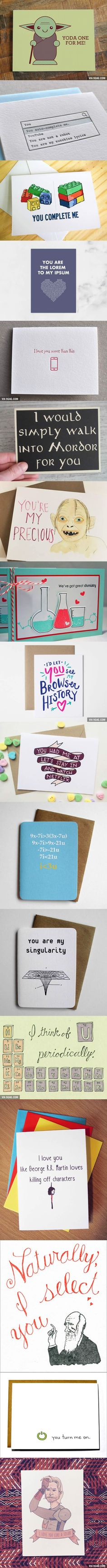 17 Nerdy Valentine's Day Cards