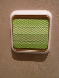 Washi tape interruptor de la luz