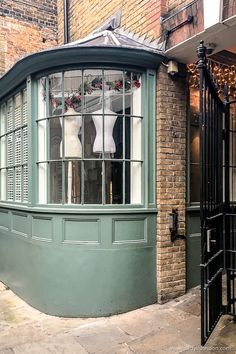 Shop in Farrier's Passage, Soho, London