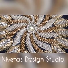 An eye to embroidery #nds #nivetasdesignstudio #embroidery