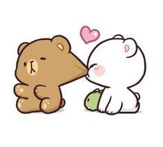 – Quotes World Cute Bunny Cartoon, Cute Couple Cartoon, Cute Cartoon Pictures, Cute Love Pictures, Cute Love Cartoons, Cute Bear Drawings, Cute Animal Drawings Kawaii, Kawaii Drawings, Calin Gif