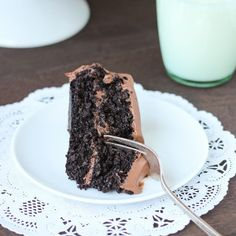Best-Ever Chocolate Quinoa Cake {gluten-free}