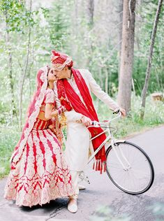 From the Bride's intricate Mehndi and gorgeous makeup from Canmore & Banff Makeup Artistry to the couple's beautiful outfits and rich, red Hindu ceremony, every detail of this four-day Indian wedding . Gorgeous Makeup, Mehndi, Beautiful Outfits, Summer Wedding, Vibrant, Indian, Bride, Couples, Beauty