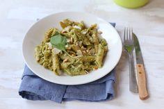 Pasta pesto en broccoli