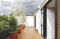 Open house | Angela Renoldi. Veja: http://casadevalentina.com.br/blog/detalhes/open-house--angela-renoldi-3188 #decor #decoracao #interior #design #casa #home #house #idea #ideia #detalhes #details #openhouse #style #estilo #casadevalentina #balcony #varanda