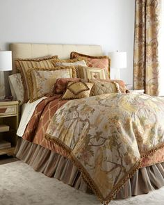Fanciful Pheasant Bedding by Sweet Dreams at Horchow.