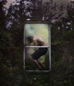 Hypnotizing Self-Portraits Filled With Surrealism - Ben Zank Photography