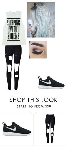"""""""Untitled #364"""" by alihemmings18 on Polyvore featuring NIKE"""