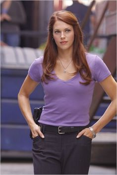 Agent Van Pelt - prettiest ginger to walk the earth and kick bad guy butt.