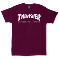 vert kaki Genuine Thrasher Skate MAG Logo T-shirt Medium