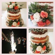 Nudecakes düğün pastası