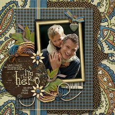Credits:Just 4 Dad by Kim B.Designs http://shop.scrapmatters.com/just-4-dad.html Welcome Template by Memory Clips Wordart by Elegant Wordart