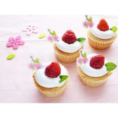 クミタス レシピ ふわふわいちごの米粉マフィン (卵・乳製品・小麦不使用)