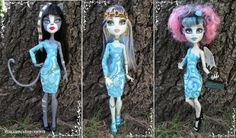 Designer Full Moon Dress MH Dolls OOAK Doll Fashions / by awiety