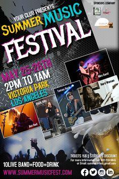 Music Festival Poster Template.