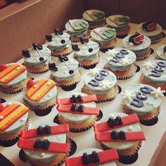 Ski Cupcakes - Kakes by Kristi.