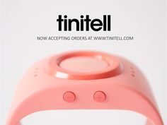 Tinitell is a wearable mobile phone for kids. A wristphone that enables peace of mind for parents, and lets kids be kids.