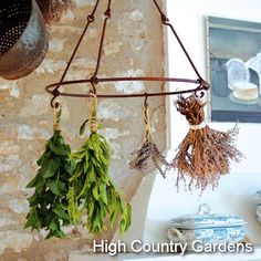 Lavender and Herb Drying Rack! More