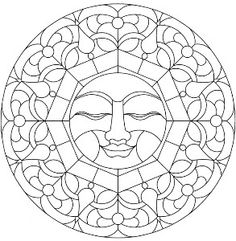 From: Mandala Stained Glass Pattern Book