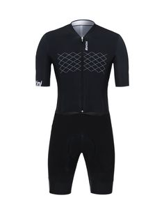 Made in Italy by Santini White Carbon Cycling Short Sleeve Base Layer